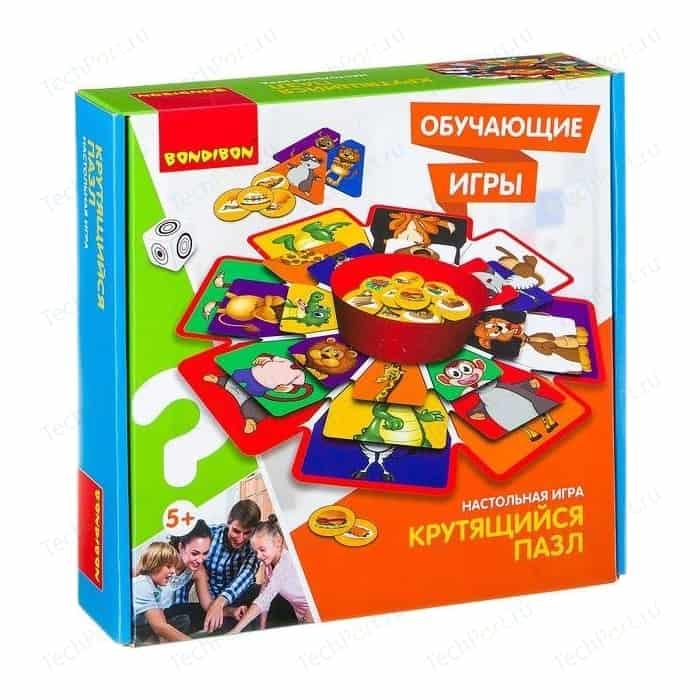 Обучающая игра Bondibon КРУТЯЩИЙСЯ ПАЗЛ (ВВ2418 )