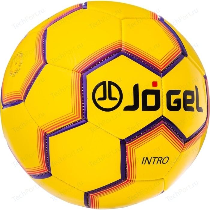 Фото - Мяч футбольный JOGEL JS-100 Intro жёлтый мяч jogel js 510 kids 3 ут 00012406