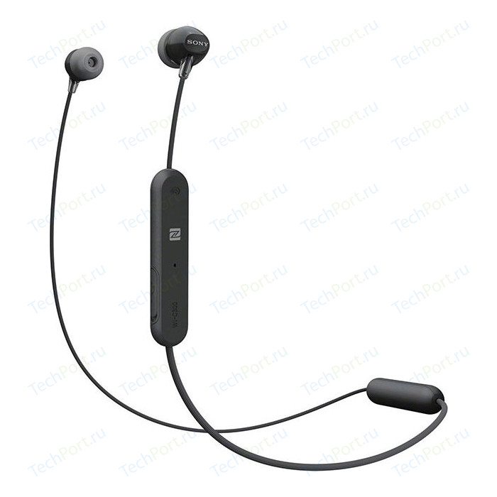 Наушники Sony WI-C300 black
