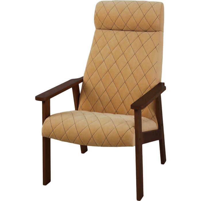 Кресло для отдыха Вилора с прострочкой тон № 2 bolero silk bone