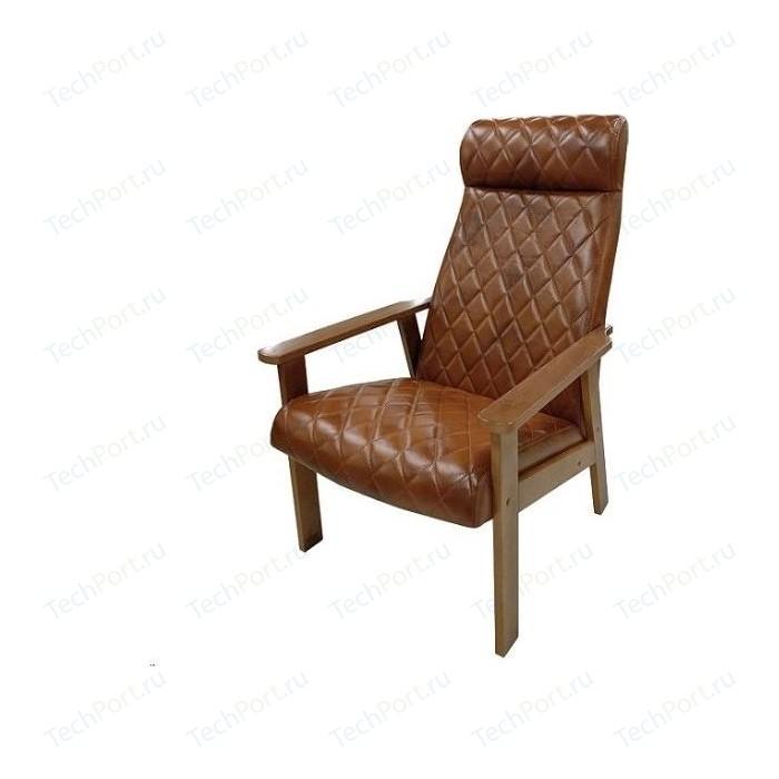Кресло для отдыха Вилора с прострочкой тон №1 oregon antik 39