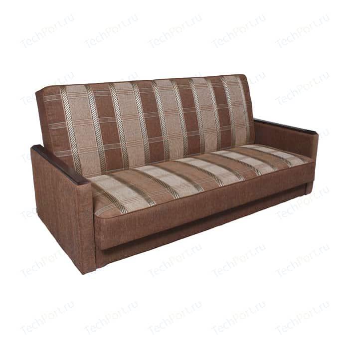 Диван книжка Шарм-Дизайн Классика Д 120 шенилл светло-коричневый кресло шарм дизайн классика д шенилл коричневый