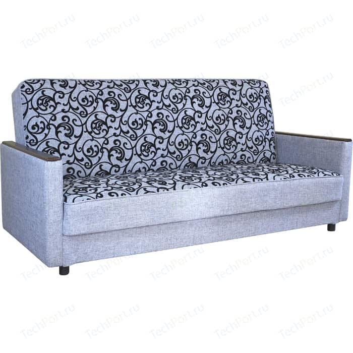 Диван книжка Шарм-Дизайн Классика Д 120 шенилл серый узор диван книжка шарм дизайн грант д 120 шенилл серый