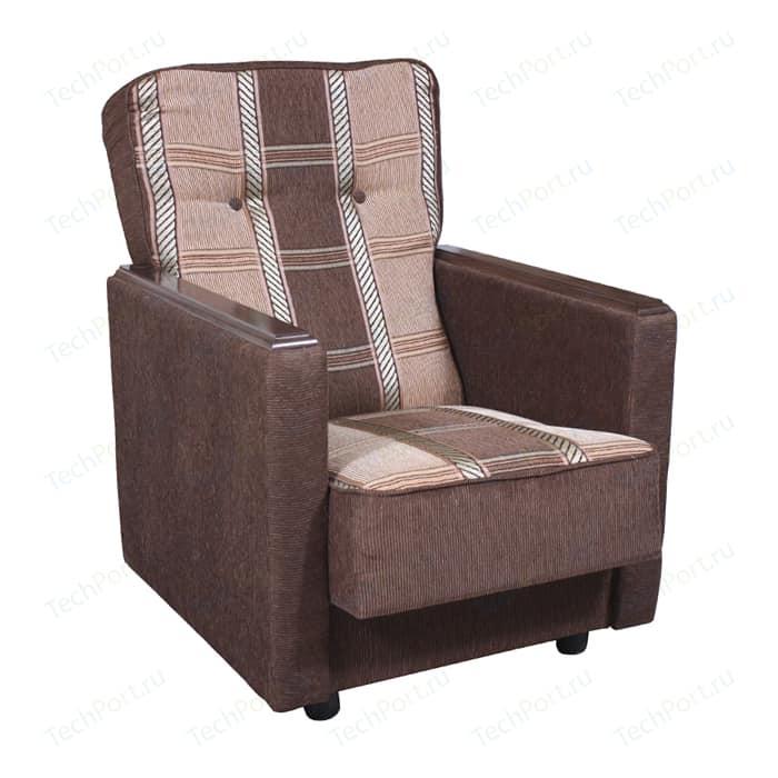 Кресло Шарм-Дизайн Классика Д шенилл коричневый кресло шарм дизайн классика д шенилл светло коричневый