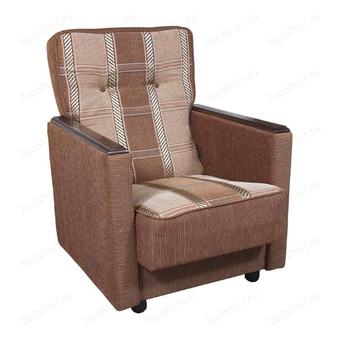 Кресло Шарм-Дизайн Классика Д шенилл светло-коричневый кресло шарм дизайн классика д шенилл коричневый