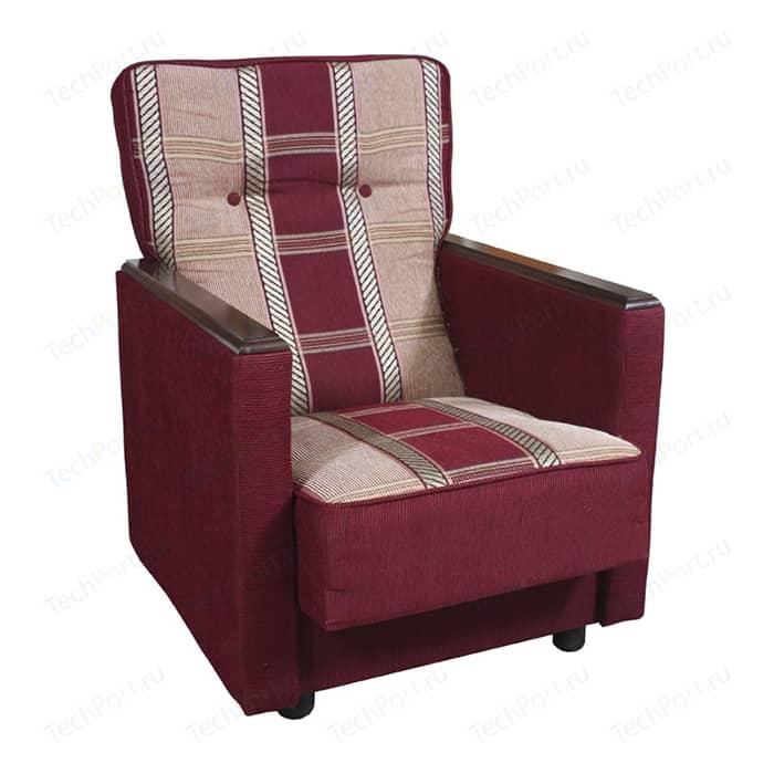 Кресло Шарм-Дизайн Классика Д шенилл бордовый кресло шарм дизайн классика д шенилл светло коричневый
