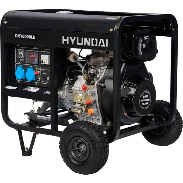 Генератор дизельный Hyundai DHY6000LE