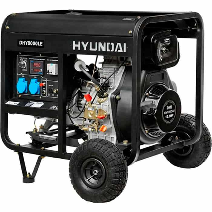 Генератор дизельный Hyundai DHY8000LE
