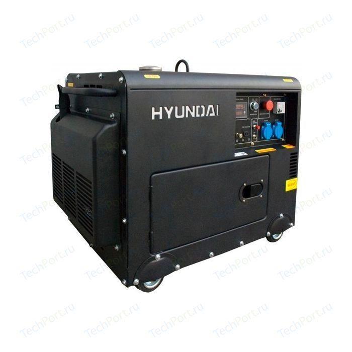 Генератор дизельный Hyundai DHY8000SE