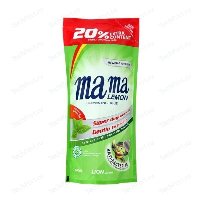 Гель для мытья посуды Mama Lemon Зеленый чай (Green Tea Fragrance) 600 мл