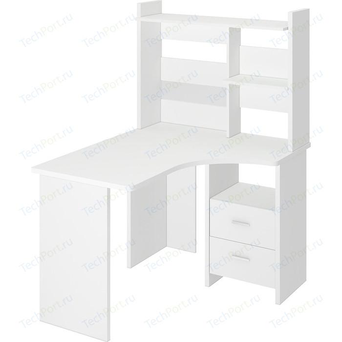 Фото - Стол компьютерный МЭРДЭС СКЛ-Угл120+НКЛ-100 БЕ ПРАВ стол компьютерный мэрдэс ср 132 бе прав белый