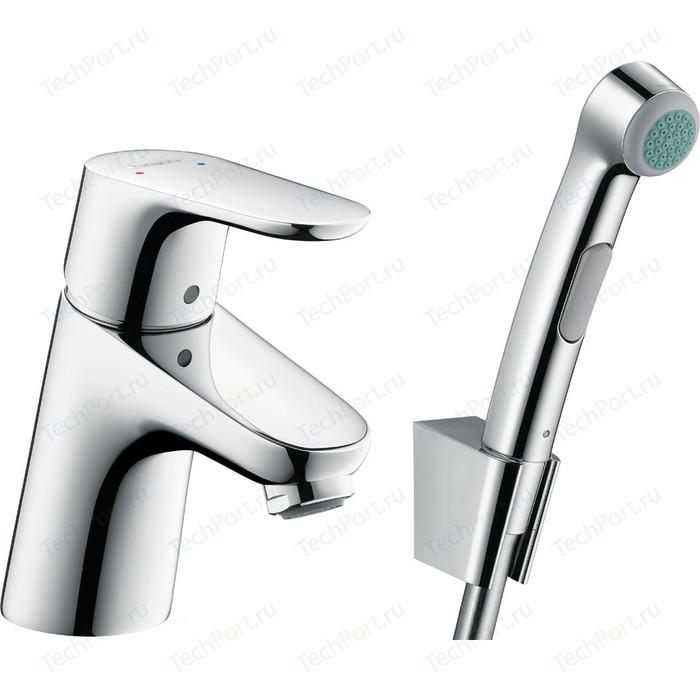Смеситель для раковины Hansgrohe Focus с гигиеническим душем (31926000)