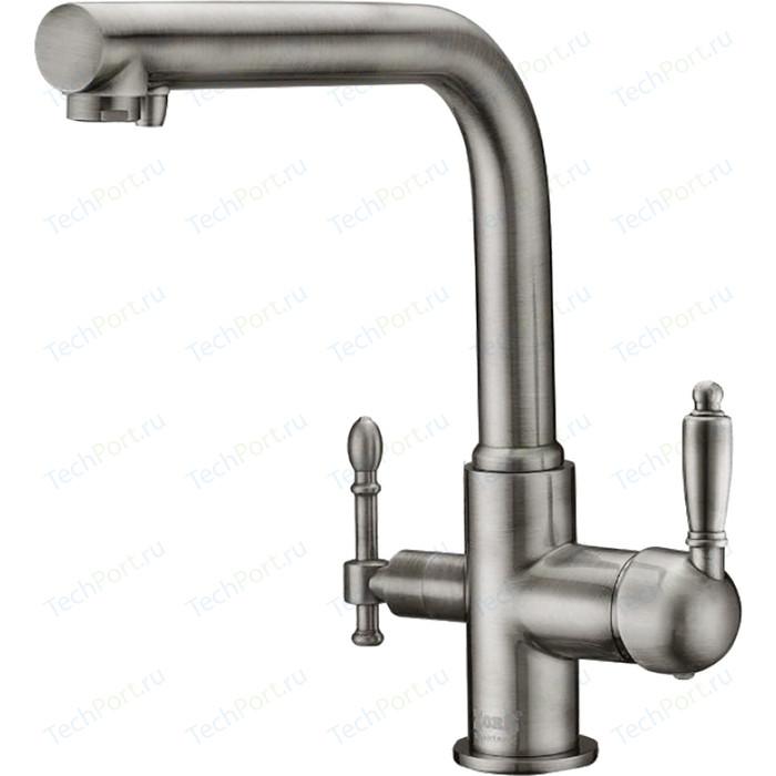 Смеситель для кухни ZorG Clean Water под фильтр, сатин (ZR 313 YF-33 SATIN)