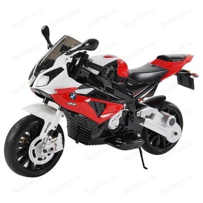 Электромотоцикл Jiajia BMW S1000RR на аккумуляторе 12V цвет красный - JT528-red электромотоцикл jiajia bmw s1000rr на аккумуляторе 12v цвет синий jt528 blue