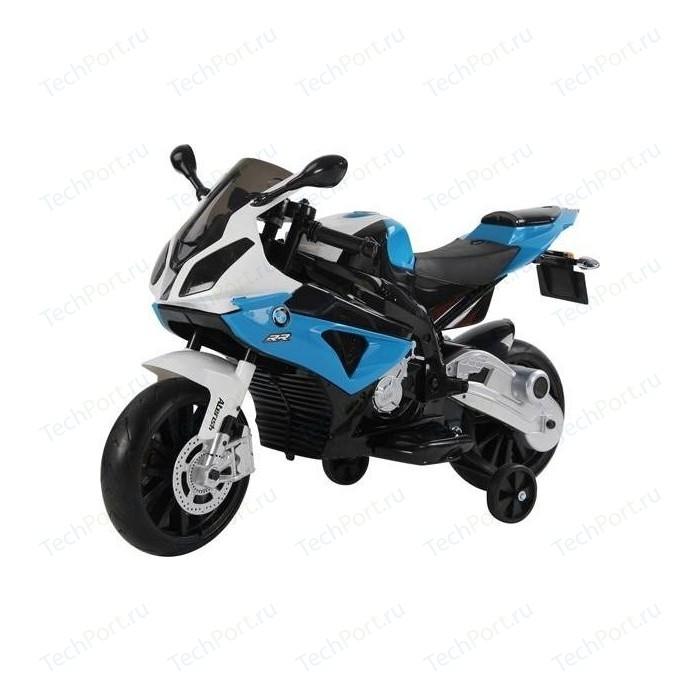 Электромотоцикл Jiajia BMW S1000RR на аккумуляторе 12V цвет синий - JT528-blue