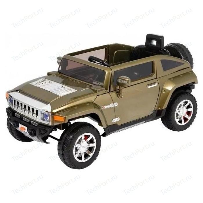Радиоуправляемый детский электромобиль Harleybella Hummer HX 12V зеленый - HL188-G