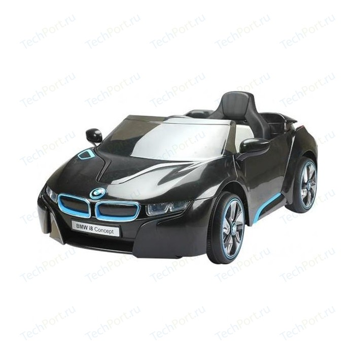 Радиоуправляемый детский электромобиль Jiajia Jiajia JE168 BMW i8 Concept 12V черный - JE168 jiajia taipei