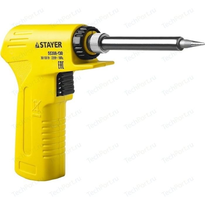 Электропаяльник Stayer Profi PROTerm 30-130Вт (55308-130)