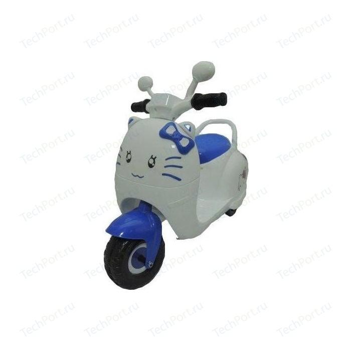 Детский электромотоцикл Jiajia синий - 8040270-B электромотоцикл jiajia bmw s1000rr на аккумуляторе 12v цвет синий jt528 blue