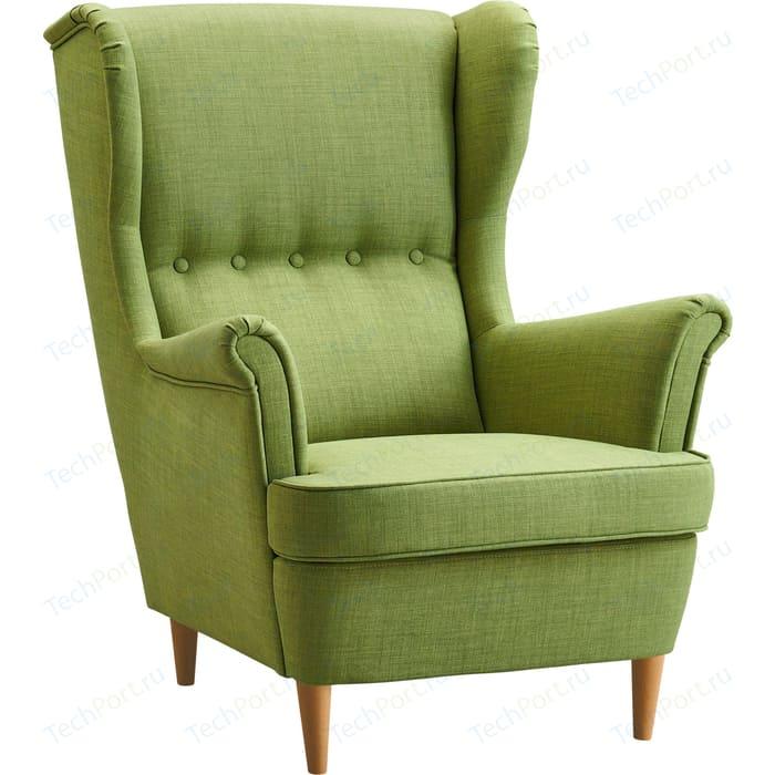 Кресло Вилора Лондон ножки бук, обивка рогожка Elain 16