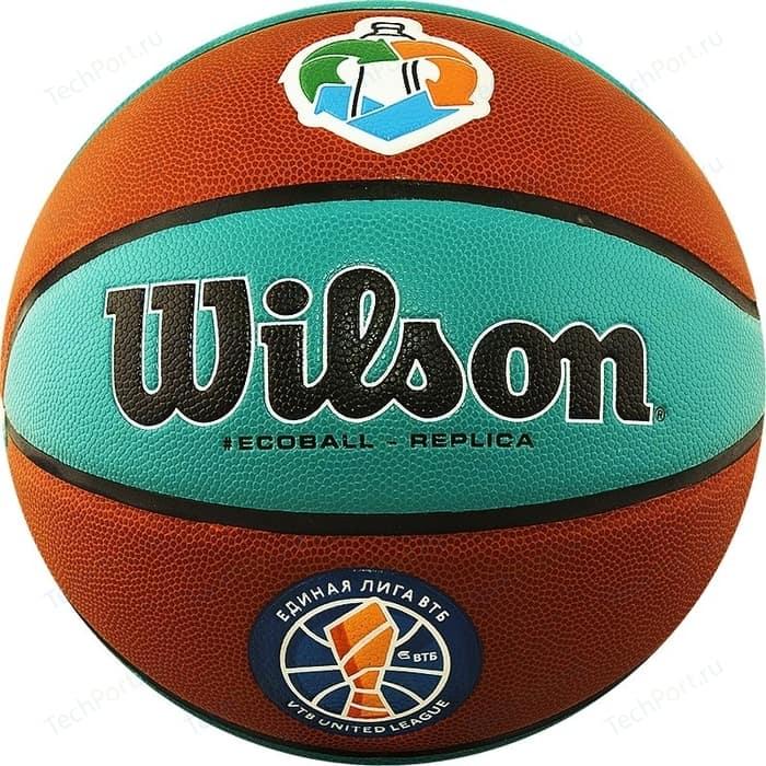 Мяч баскетбольный Wilson VTB Replica ASG ECO WTB1534XBVTB р.7 логотип Единой Лиги ВТБ