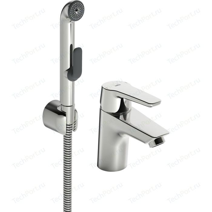Смеситель для раковины Oras Saga с гигиеническим душем (3912F)