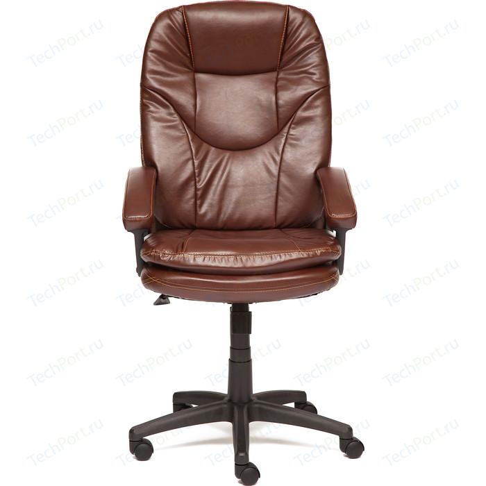 Кресло TetChair COMFORT LT кож/зам коричневый, 2 tone