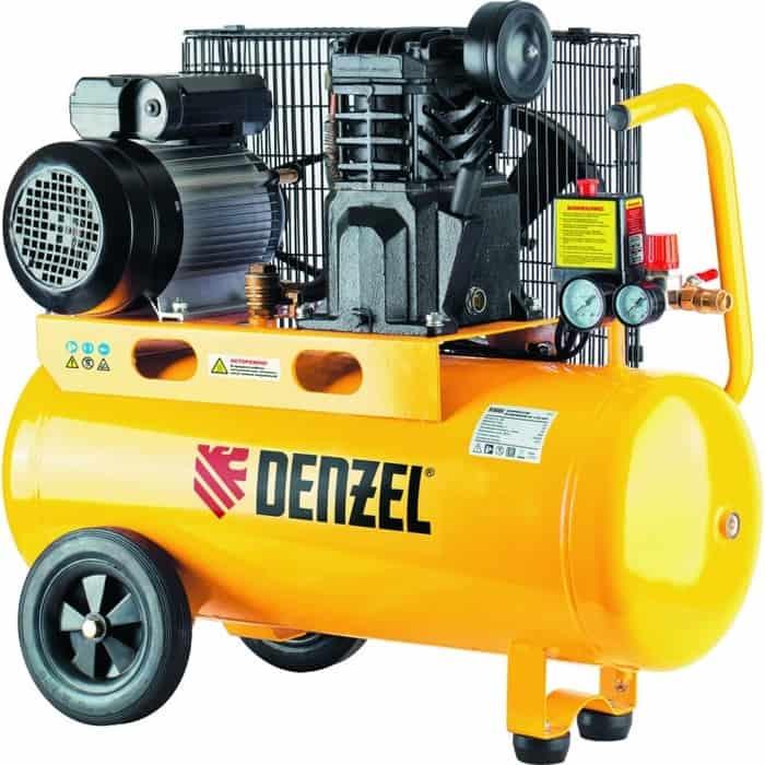 Компрессор масляный DENZEL PC 2/50-400, X-Pro