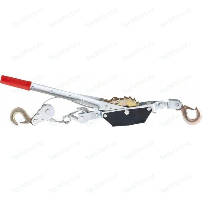 Лебедка ручная рычажная SPARTA тяга 1,5т подъем 0,6т (522155)