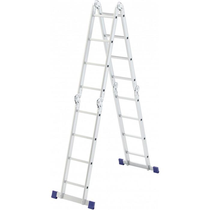 Лестница-трансформер шарнирная СибрТех 4х4 (97882)