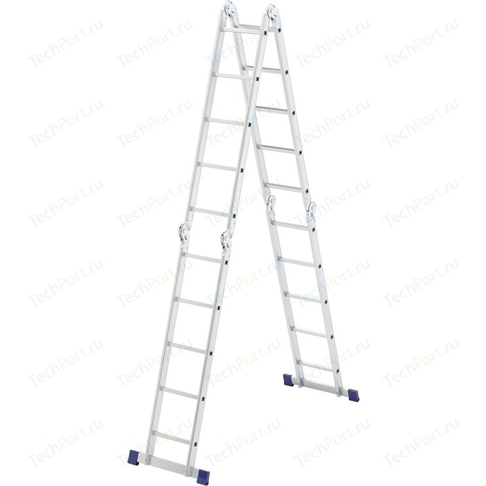 Лестница-трансформер СибрТех 4х5 шарнирная (97883)