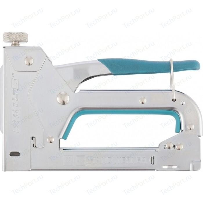 Степлер мебельный GROSS 4-14мм (41000)