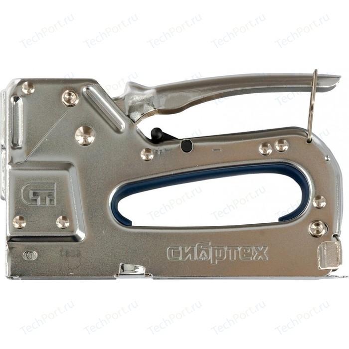 Степлер СибрТех мебельный 4-14мм (40101)
