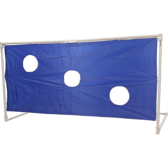 Ворота футбольные с тентом для отрабатывания ударов DFC GOAL240ST 240x120x120 см.