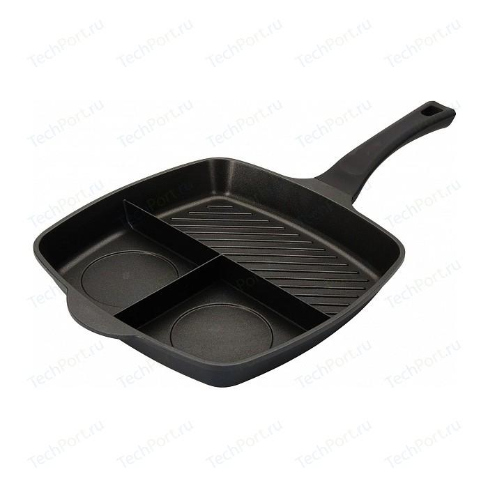 Мульти сковорода 3 в 1 Regent 28х28см Linea Grill (93-AL-GLL-01)