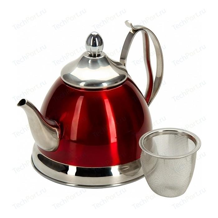 Заварочный чайник 0.8 л с ситечком Regent Linea Promo (94-1508)
