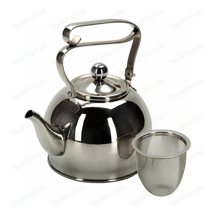 Заварочный чайник 0.8 л с ситечком Regent Linea Promo (94-1509)
