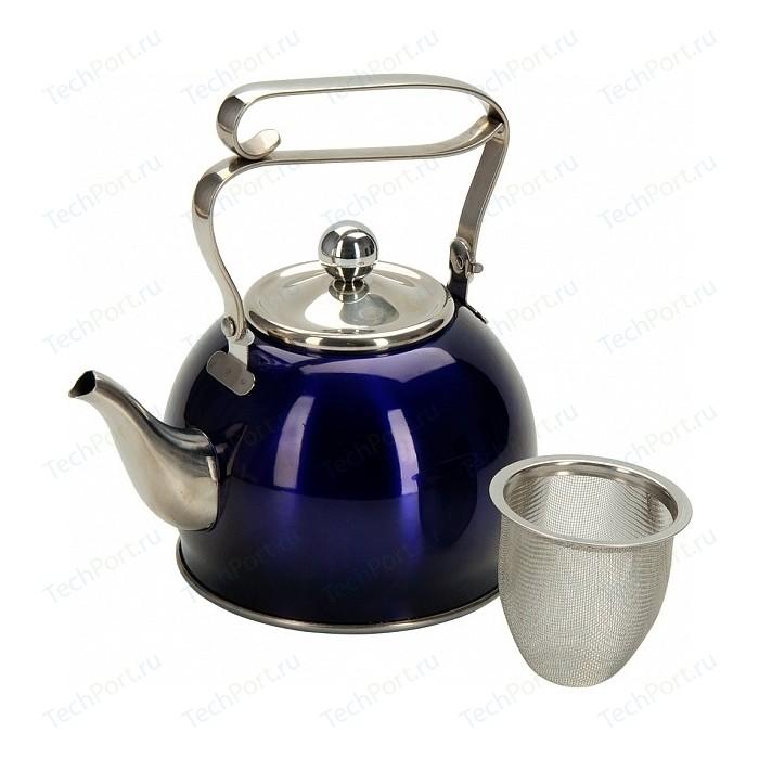 Заварочный чайник 0.8 л с ситечком Regent Linea Promo (94-1510)