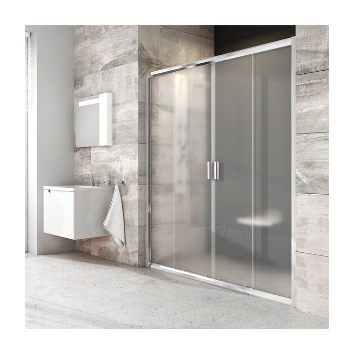 Душевая дверь Ravak Blix BLDP4 140 прозрачная, хром (0YVM0C00Z1)