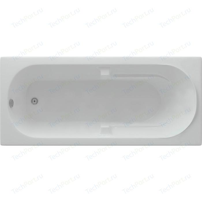 Акриловая ванна Aquatek Лея 170х75 см фронтальная панель, каркас, слив-перелив (LEY170-0000021) акриловая ванна aquatek альфа 140х70 фронтальная панель каркас слив перелив alf140 0000019