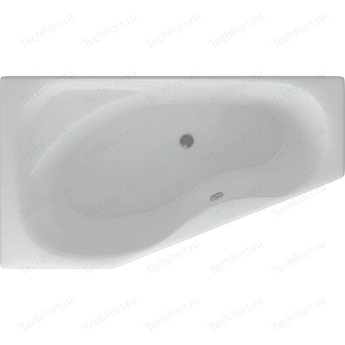 Акриловая ванна Aquatek Медея 170х95 см левая фронтальная панель, каркас, слив-перелив (MED180-0000037)