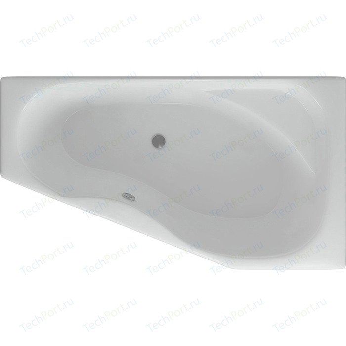Акриловая ванна Aquatek Медея 170х95 правая фронтальная панель, каркас, слив-перелив (MED180-0000038)