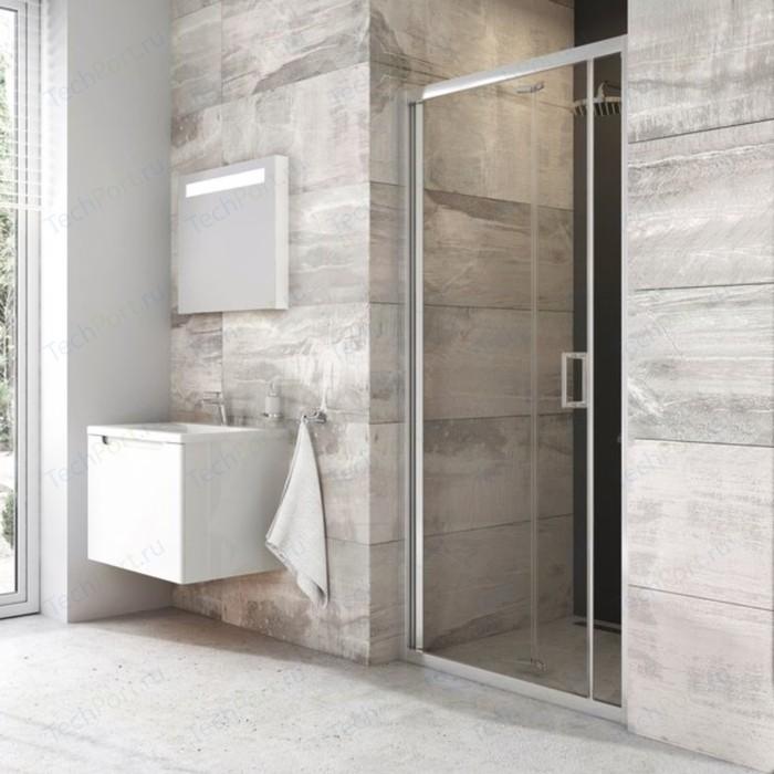 Душевая дверь Ravak Blix BLDZ2 90 прозрачная, хром (X01H70C00Z1)