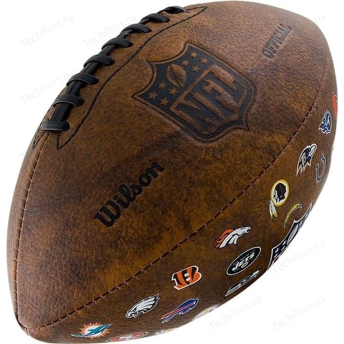 Мяч для регби Wilson NFL 32 Team Logo WTF1758XBNF32