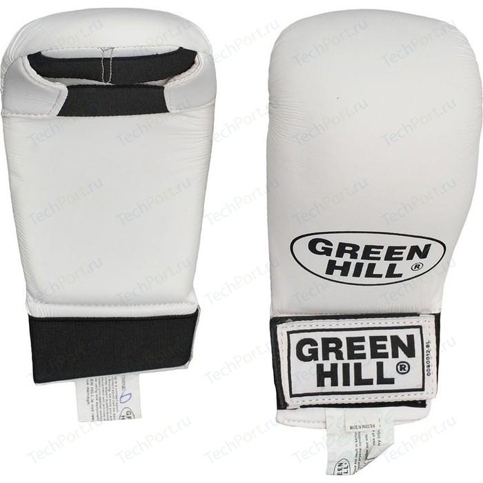 Накладки для каратэ GREEN HILL KMC-6083-L-WH, р. L