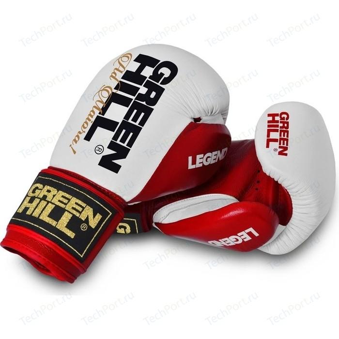 Перчатки боксерские GREEN HILL LEGEND BGL-2246-10-RD