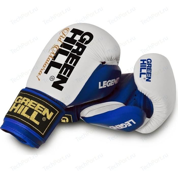 Перчатки боксерские GREEN HILL LEGEND BGL-2246-12-BL