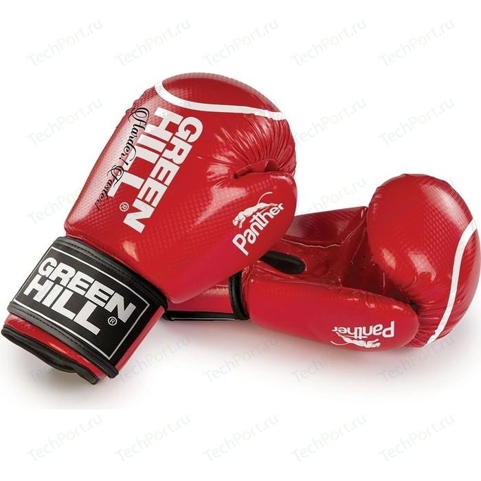 Перчатки боксерские GREEN HILL PANTHER BGP-2098-10-RD