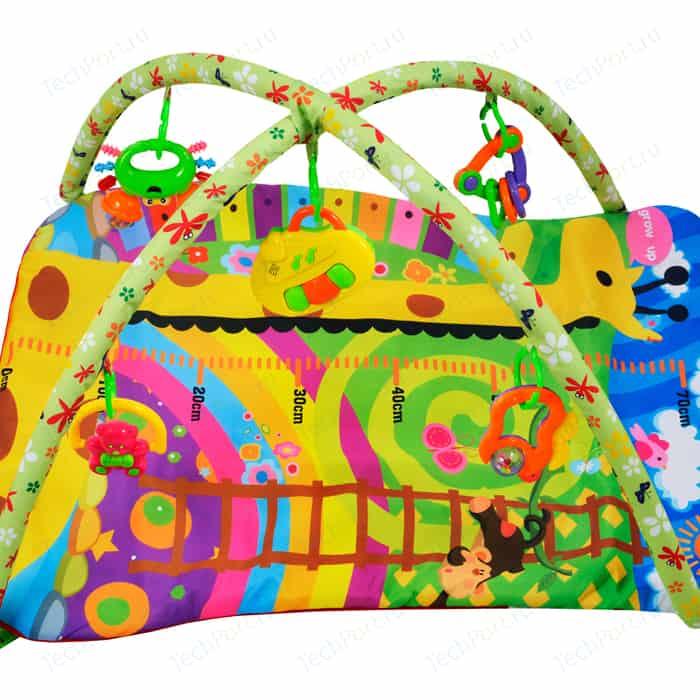 Развивающий коврик Жирафики Ростомер Жирафик (632118) жирафики игровой центр подушка жирафики жирафик и друзья