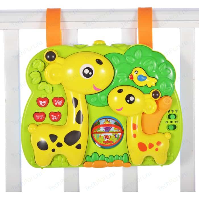 игровой центр Жирафики Мультифункциональный на кроватку, 3 режима (633051) жирафики игровой центр подушка жирафики жирафик и друзья